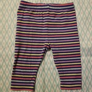 Circo Colorful Baby Girls Striped Leggings